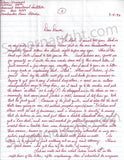 Aileen Wuornos 1993 letter and envelope set both signed