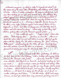 Aileen Wuornos 1993 letter and envelope set both signed - Supernaught True Crime Collectibles - 2