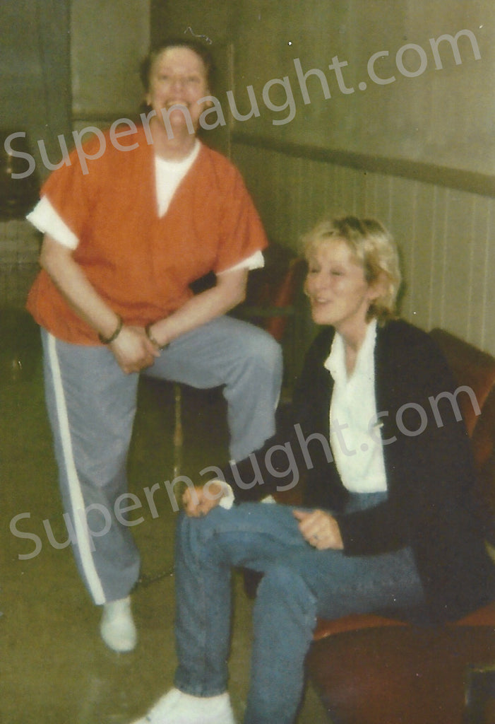 Aileen Wuornos Eve of Execution Photo October 2002 - Supernaught True Crime Collectibles