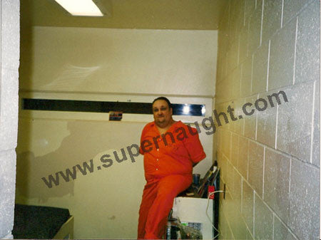 Nathaniel Bar-Jonah color prison photo signed - Supernaught True Crime Collectibles - 1