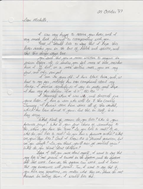 Cesar Barone Adolph James Rode Signed Letter Serial Killer