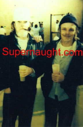 Lawrence Bittaker and Douglas Clark Death Row Yard Photo - Supernaught True Crime Collectibles