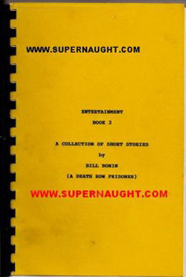 William Bonin Entertainment Book 2 Signed - Supernaught True Crime Collectibles