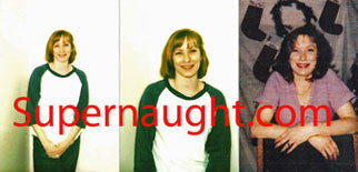 Cynthia Coffman three photos taken on death row - Supernaught True Crime Collectibles