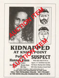 Richard Allen Davis Polly Klaas Two Original Missing Flyers - Supernaught True Crime Collectibles - 2