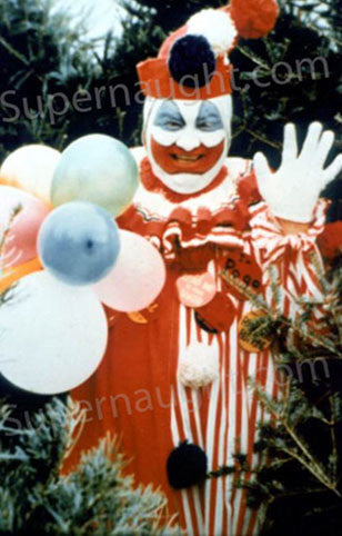 John Wayne Gacy pogo the clown photograph serial killer