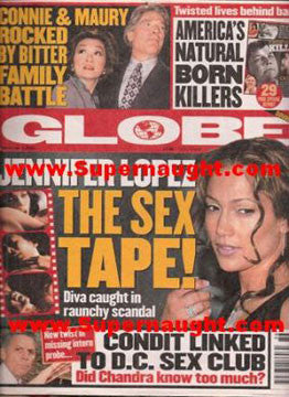 Globe natural born killers special report Sept 2001 - Supernaught True Crime Collectibles