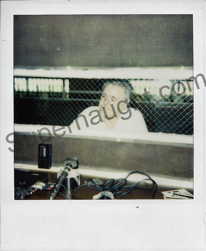 Henry Lee Lucas Polaroid Photograph Death Row