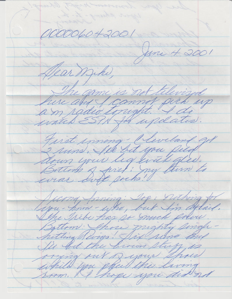 Harvey Carignan 2 Page Letter and Envelope Set Both Signed - Supernaught True Crime Collectibles - 1