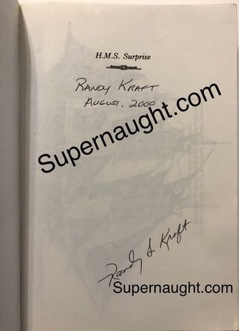 Randy Steven Kraft signed book