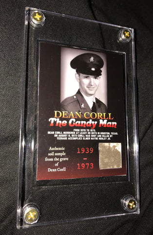 Dean Corll Grave Dirt Collector's Card