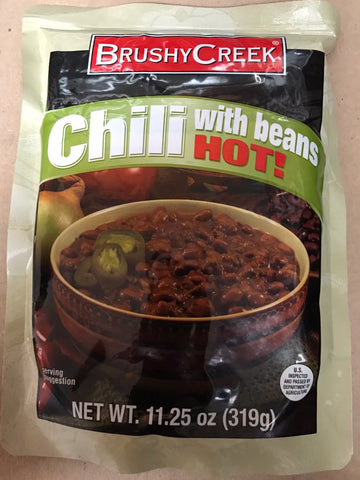 Brushy Creek Chili with Beans Hot
