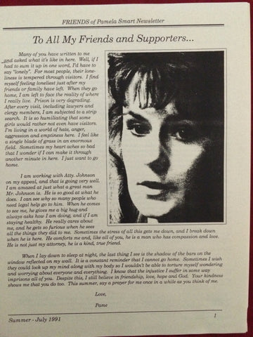 Friends of Pamela Smart Newsletter