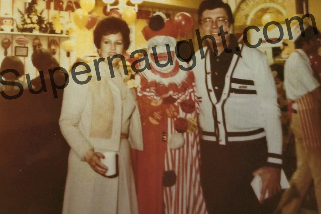 John Wayne Gacy Pogo the Clown Photo