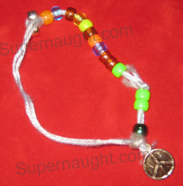 Charles Manson Bracelet Handmade in Prison - Supernaught True Crime Collectibles