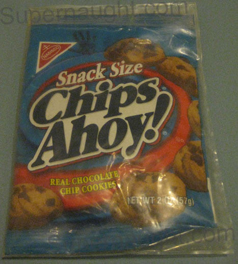 Charles Manson Chips Ahoy cookies from visit 2002 - Supernaught True Crime Collectibles - 1