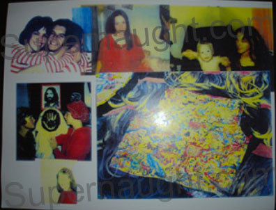 Charles Manson Family Women Collage Photo