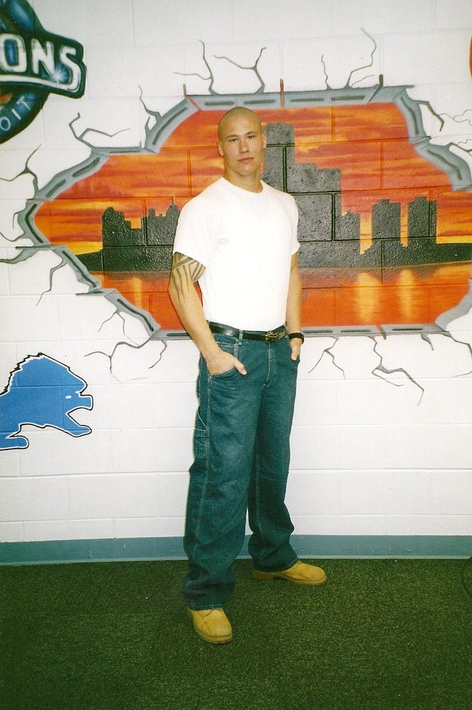 Seth Privacky color prison photo taken in 2007 - Supernaught True Crime Collectibles