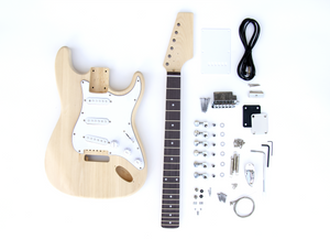 DIY Electric Guitar Kit - ST Style Build Your Own Guitar