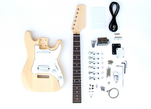 DIY Electric Guitar Kit - Mini ST Style Build Your Own Guitar