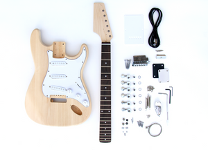 DIY Electric Guitar Kit - ST Style Reverse Headstock Build Your Own Guitar