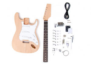 DIY Electric Guitar Kit - ST Style Mahogany Build Your Own Guitar