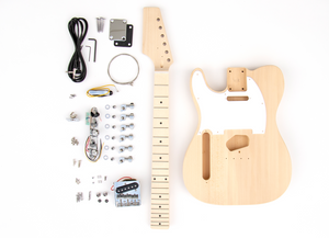 DIY Electric Guitar Kit - TL Style Build Your Own Guitar LEFTY