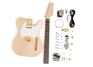 DIY Electric Guitar Kit TL Style Build Your Own Guitar Rosewood