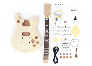 DIY Electric Guitar Kit Double Cut Build Your Own Guitar Kit