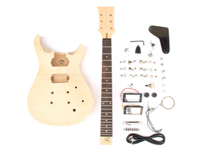 DIY Electric Guitar Kit Double Cut P Build Your Own Guitar Kit