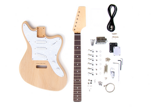 DIY Electric Guitar Kit – Offset 3 Single Coil Build Your Own Guitar Kit