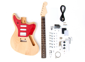 DIY Electric Guitar Kit – Jaguar Style Build Your Own Guitar Kit
