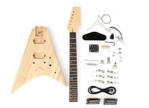 DIY Electric Guitar Kit Modified V Style Build Your Own Guitar Kit