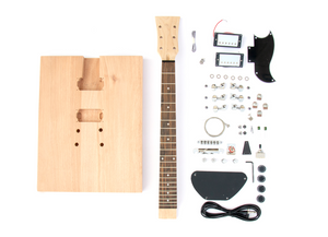 DIY Electric Guitar Kit - Cut Your Own Shape Advanced Guitar Kit