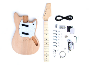 DIY Electric Guitar Kit – Offset 2 Single Coil Build Your Own Guitar Kit