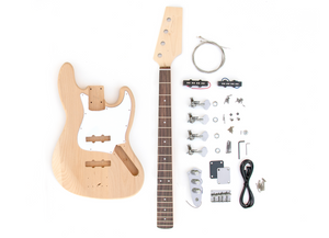 DIY Electric Bass Guitar Kit - J Bass Build Your Own