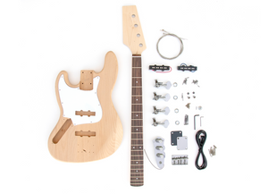 DIY Electric Bass Guitar Kit - J Bass Left Hand Bass Kit