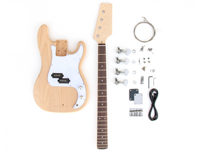 DIY Electric Bass Guitar Kit - P Bass Build Your Own
