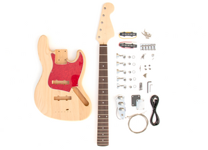 DIY Electric Bass Guitar Kit - 5 String J Bass Build Your Own