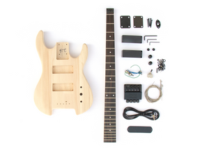 DIY Electric Bass Guitar Kit - Headless Bass Build Your Own