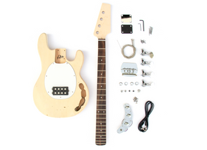 DIY Electric Bass Guitar Kit - MM Bass Build Your Own