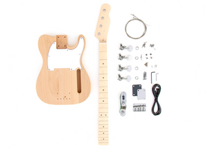 DIY Electric Bass Guitar Kit - TL Bass Advanced Guitar Kit