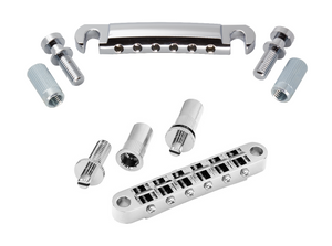 Gotoh Tuneomatic Bridge and Stop Tailpiece- Chrome
