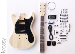 DIY Electric Guitar Kit – Mos Style Build Your Own Guitar Kit