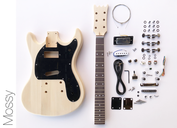 diy electric guitar kit mos style build your own guitar kit the fretwire. Black Bedroom Furniture Sets. Home Design Ideas