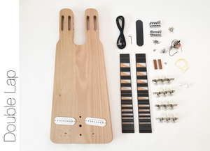 DIY Electric Guitar Kit - Double Neck Lap Steel Build Your Own