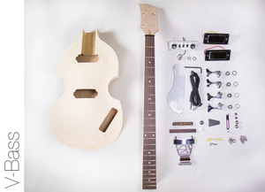 DIY Electric Bass Guitar Kit - Violin Bass Build Your Own