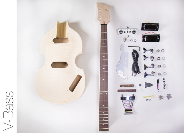 diy electric bass guitar kit violin bass build your own the fretwire. Black Bedroom Furniture Sets. Home Design Ideas