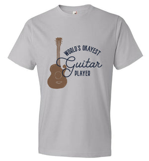 World's Okayest Guitar Player - T-shirt