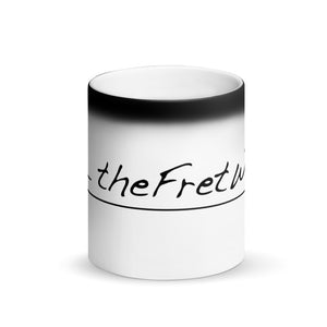 The Fret Wire - Matte Black Magic Mug
